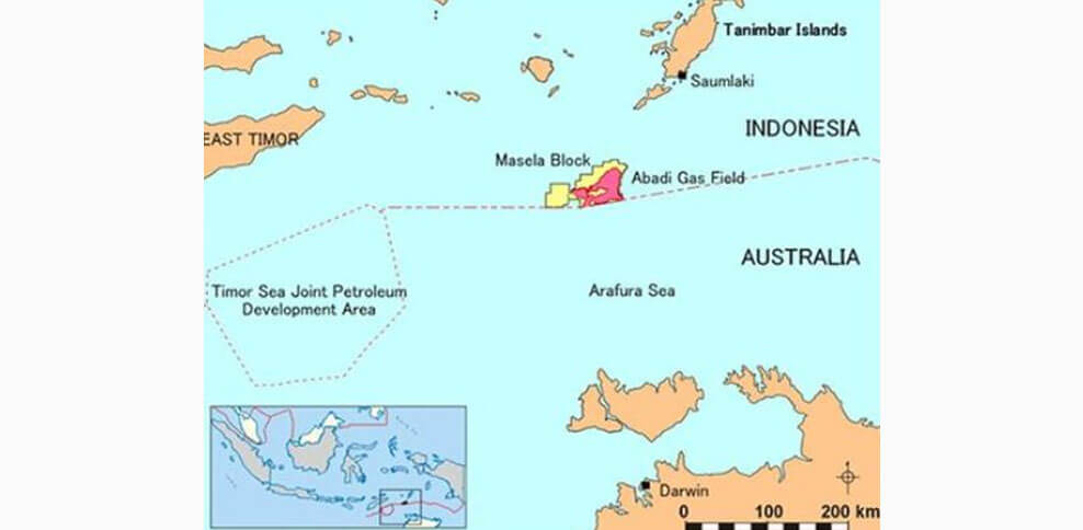 INPEX to commence Pre-FEED for Abadi LNG project