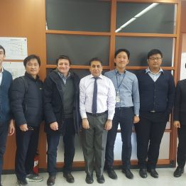 At Hyundai Office in Seoul with HAZOP & SIL team mebers for Uzbekistan Gas to Liquid (GTL) Project