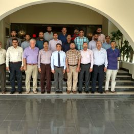 With the participants of SIL Assessment training at PARCO plantsite.