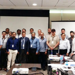 Conducted HAZOP & SIL Assessment workshops for TV/HP/LP Compressors for Kuwait Oil Company's GC-32 New Gathering Centre for SEK Project. The technical representatives from MAN Turbomachinery, Germany and HSE consultants from Cholamandalam MS Risk participated in the workshop. The workshop was held at Petrofac office in Sharjah, UAE from 8th to 11th April, 2018.